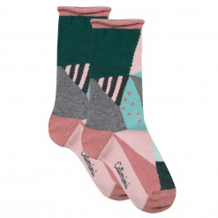 Pre-Order Catimini AW15 KF Spirit City Patterned Socks