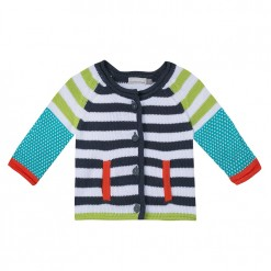 Pre-Order Catimini SS16 BB Spirit Graphique Striped Knitted Cardigan