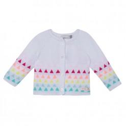 Pre-Order Catimini SS16 BG Pastels White Knitted Cardigan
