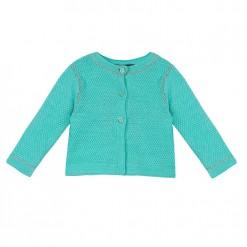 Pre-Order Catimini SS16 BG Pastels Mint Green Knitted Cardigan