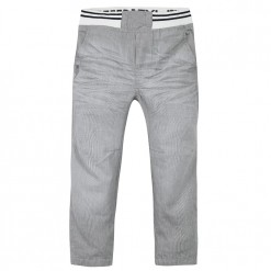 Pre-Order Catimini SS16 MB Urban Global Mix Grey Micro-Striped Trousers