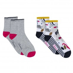 Pre-Order Catimini SS16 KF Spirit Graphique Socks Pack
