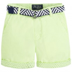 Mayoral SS16 Mini Boys Acid Green Bermuda Shorts