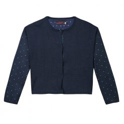 Pre-Order Catimini AW16 KF Pop Marine Blue Knitted Cardigan