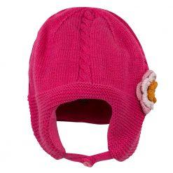 Pre-Order Catimini AW16 BG Pop Fuchsia Pink Knitted Hat