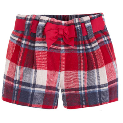 mayoral-red-checked-flanel-shorts-4200
