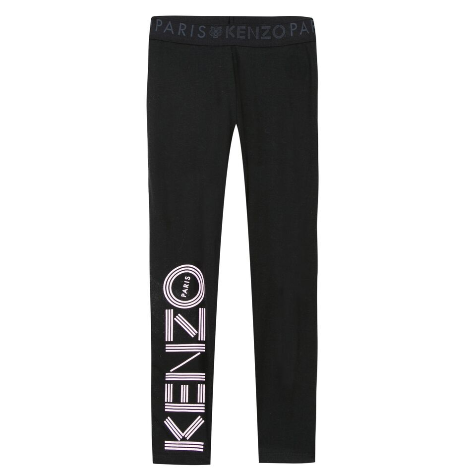 Kenzo Aw17 Eg Logo 5 Calecon Jack And Jill Kidswear
