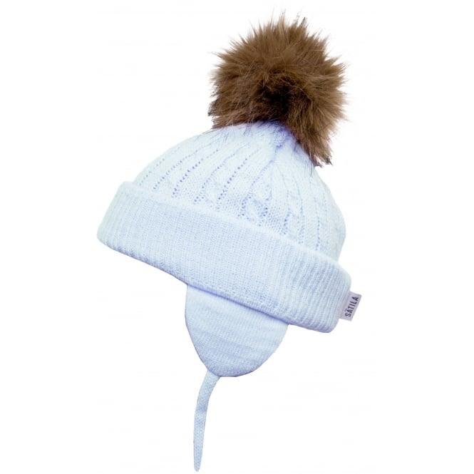 04e7c4181ce Satila Blue Piper Hat Hat - Jack and Jill Kidswear