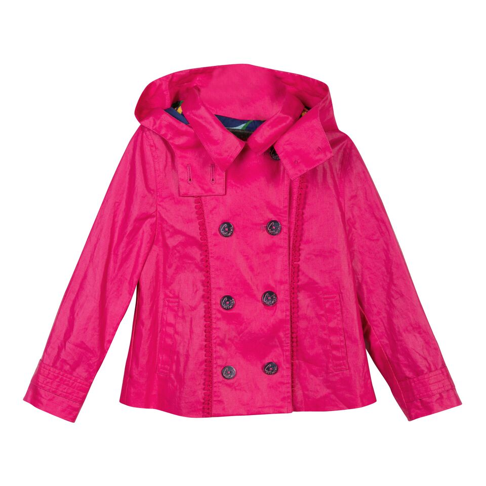 df4d39c2e60cb Catimini S S18 KG Nomade Pink Anorak Jacket - Jack and Jill Kidswear