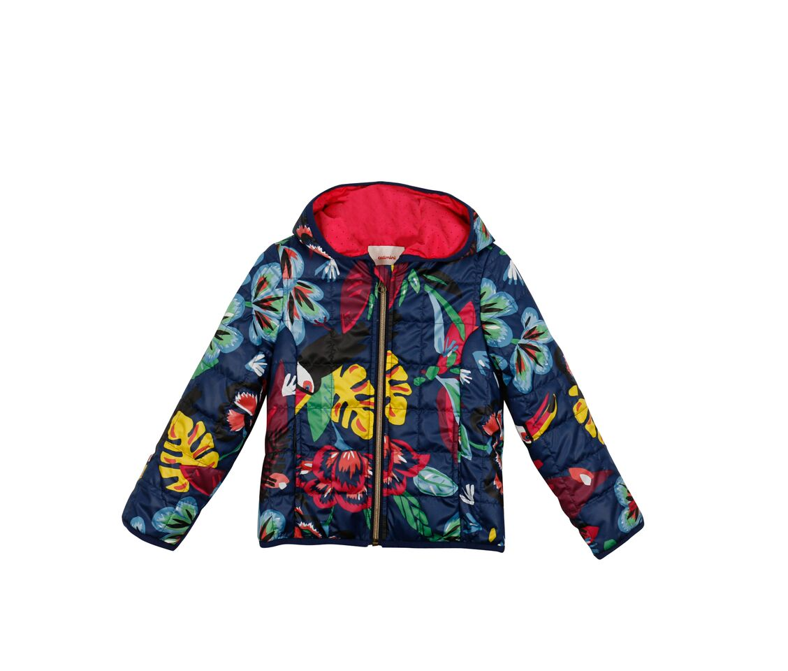 71060d0d93d9a Catimini S S18 KG Nomade Tropic Light Printed Jacket - Jack and Jill  Kidswear