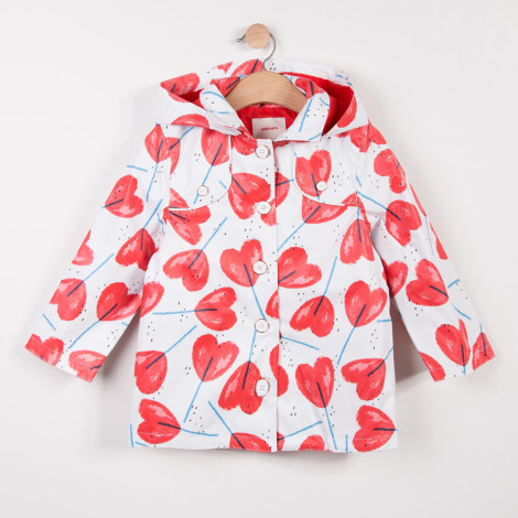 b6dbbe763 Catimini S/S18 KG Floral Printed Pink/Red Jacket - Jack and Jill ...