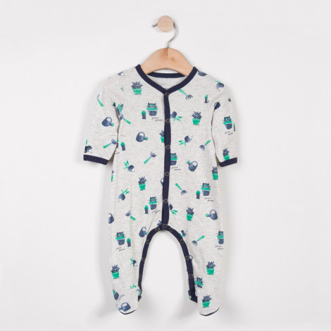 pyjama-jersey-imprime-chat-jardinier